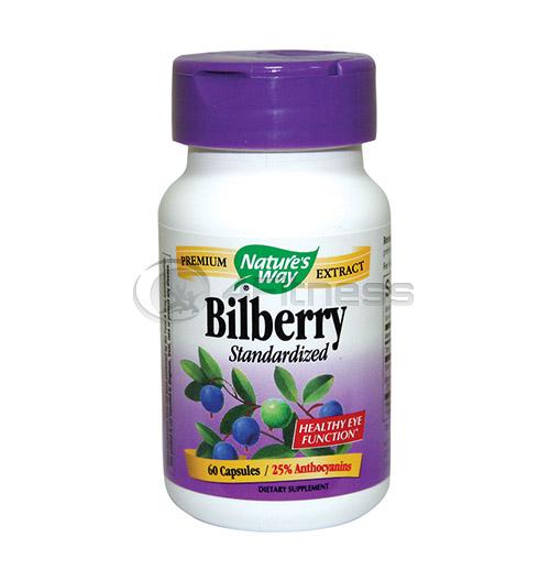 Bilberry 200 mg. / Боровинка и бъз 200 мг. – 60 Капс.