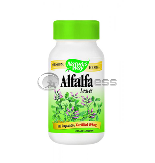 Alfaalfa (Leaves) 405 mg. / Люцерна (листа) 405 мг. – 100 Капс.