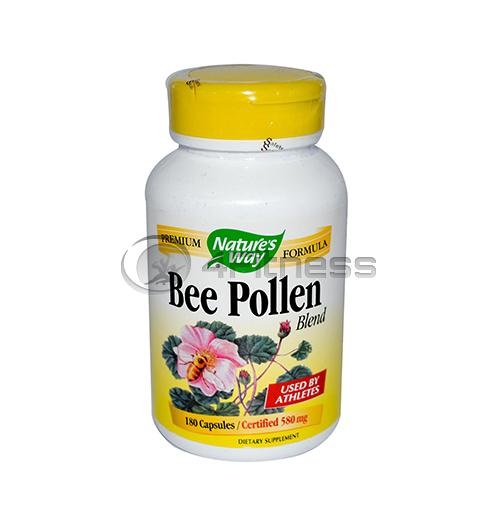 Bee Pollen 580 mg. /  Пчелен прашец 580 мг. – 180 Капс.