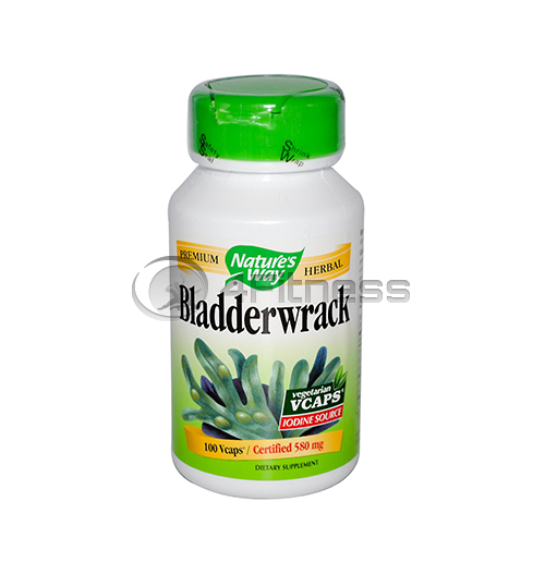 Bladderwrack – 580 mg. / Кафяви водорасли 580 мг. – 100 caps.