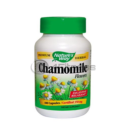 Chamomile Flowers 350 mg. / Лайка (цвят) 350 мг. – 100 Капс.
