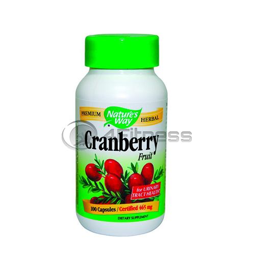 Cranberry Fruit 465 mg. / Червена боровинка 465 мг. – 100 Капс.