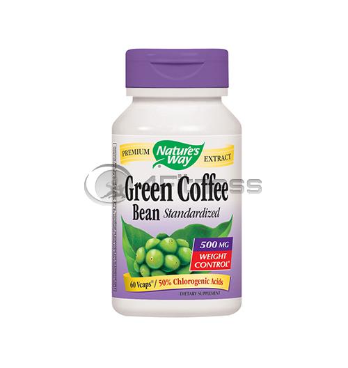 Green Coffee Bean – 500 mg. / Зелено кафе (зърна) – 500 мг. 60 В-Капс.
