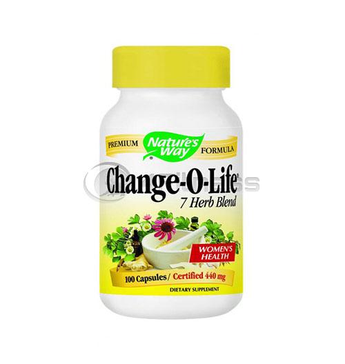 Change-o-life 440 mg. / Чейндж-о-лайф 440 мг. – 100 Капс.