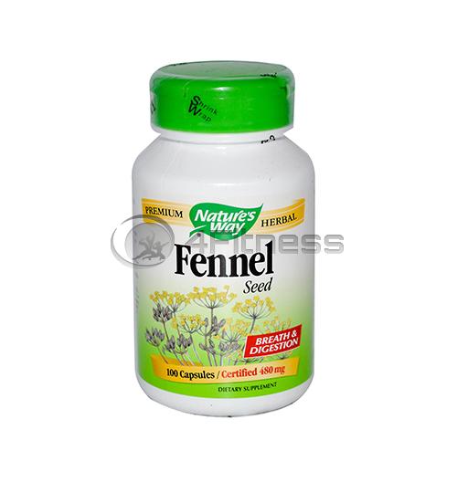 Fennel Seed 480 mg. /  Див копър 480 мг. – 100 Капс.