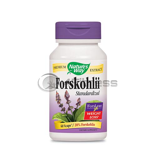 Forskohlii 250 mg.  / Форсколий – 250 мг. 60 В-Капс.