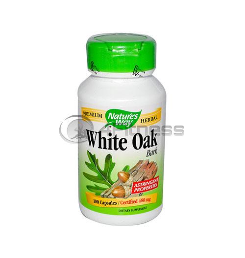 White Oak 480 mg. /  Бял дъб (кора) 480 мг. – 100 Капс.