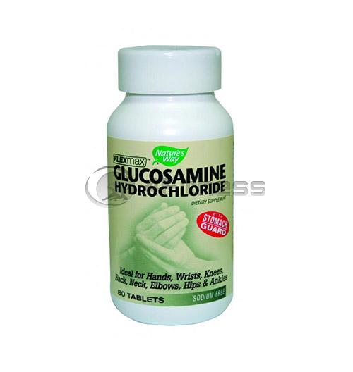 Glucosamin HCL 375 mg./ Глюкозамин HCL 375 мг. – 80 Капс.