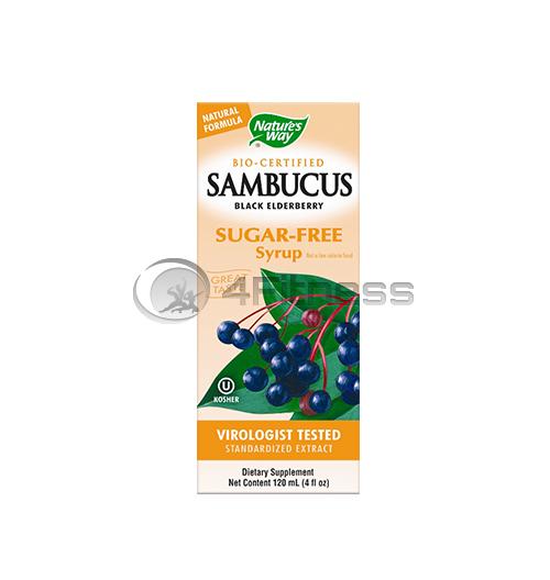 Sambucus sugar-free syrup 120 ml./ Самбукус (без захар) 120 мл.