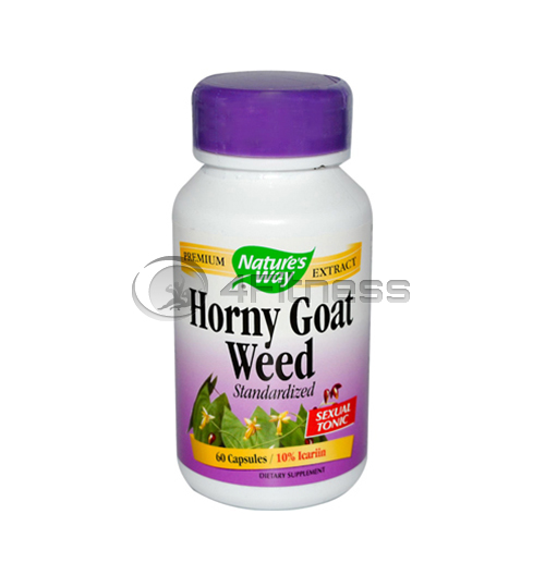 Horny Goat Weed 500 mg./ Епимедиум/Разгонен козел 500 мг. –  60 Капс.
