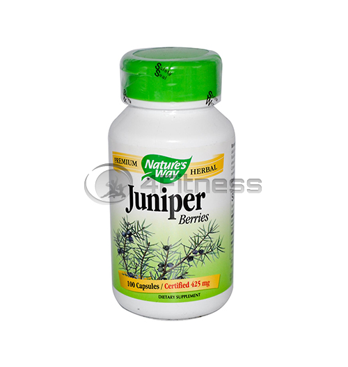 Juniper Berry 425 mg. / Хвойна синя (плод) 425 мг. – 100 Капс.