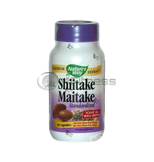 Shiitake & Maitake 400 mg./ Шийтаке и майтаке 400 мг. – 60 Капс.