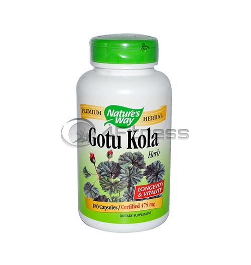 Gotu Kola 475 mg. / Готу кола 475 мг. – 100 Капс.