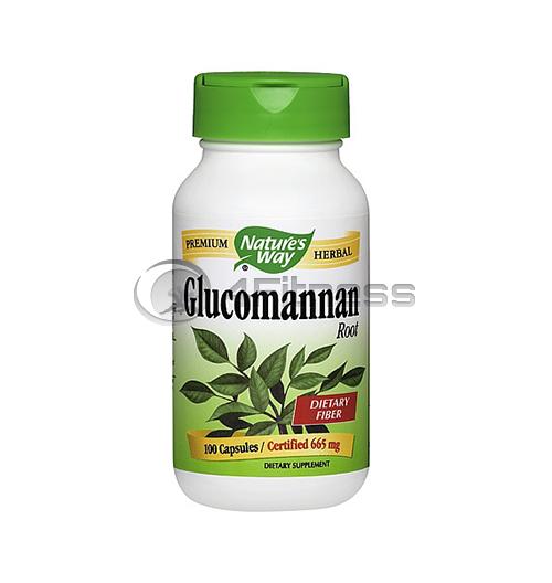Glucomannan 665 мг. / Картофена палма (корен) – 100 Kaпс.
