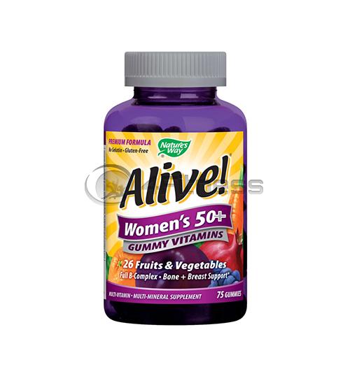 Alive Women's 50+ 131 mg./ Алайв мултивитамини за жени 50+ 131 мг. – 75 Капс.