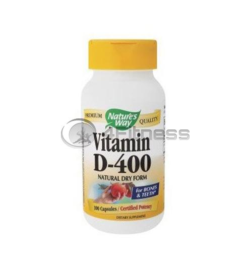Vitamin D-400 / Витамин D-400 IU за нормална костна минерализация