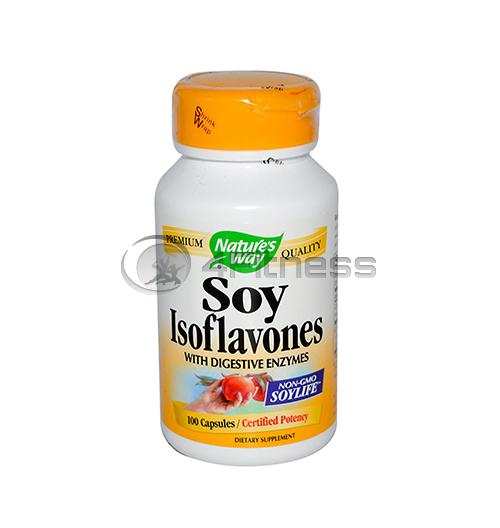 Soy Isoflavones 500 mg./ Соя и изофлавин 500 мг. – 100 Капс.