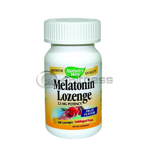 Melatonin 2,5 mg./ Мелатонин 2,5 мг. – 100 Капс.