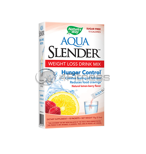 Aqua Slender Weight Loss Drink Mix Lemon-Berry Flavor/ Аква Слендър – горски плод и лимон 38мг. / 10 Пакетчета