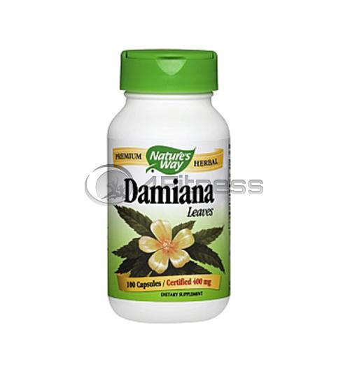 Damiana 400 mg./ Дамиана 400 мг. – 100 Капс.