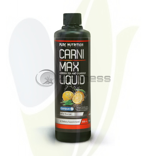 Carni Max Liquid + Green Tea & Guarana – 500 ml.