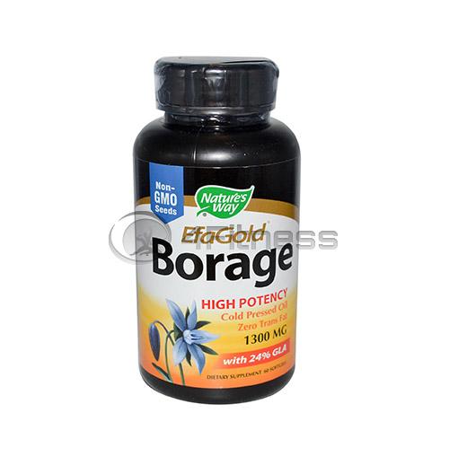 Borage Oil 1300 mg./ Пореч масло 1300 мг.