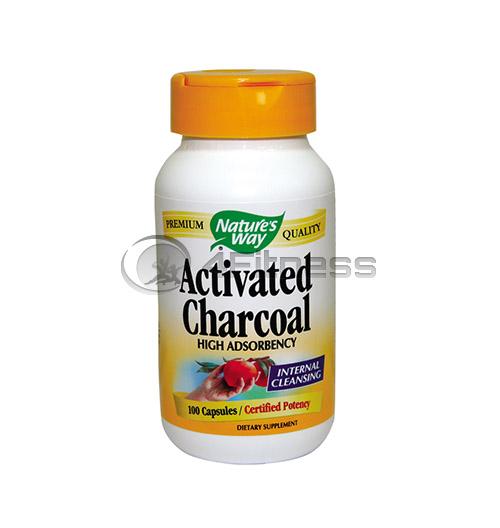 Activated Charcoal 280 mg./ Активен въглен 280 мг. – 100 Капс.