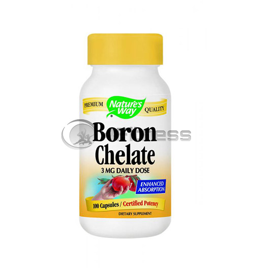 Boron Chelate 3 mg./ Бор хелат 3 мг. – 100 Капс.