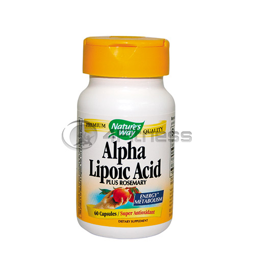 Alpha Lipoic Acid 360 mg./ Алфа липоева киселина 360 мг. – 60 Капс.