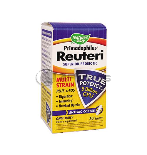 Primadophilus Reuteri 276 mg./ Пробиотик Примадофилус Реутери 276 мг. – 30 Капс.