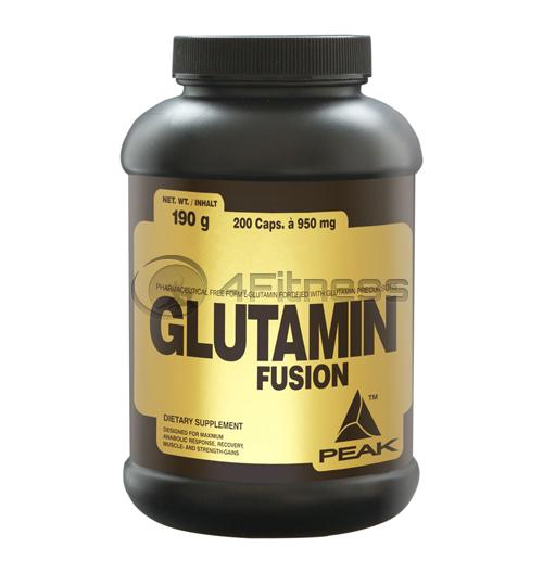 Glutamin Fusion 950 mg. – 200 caps.