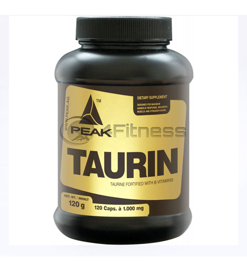 Taurin 1000 mg. – 120 caps.