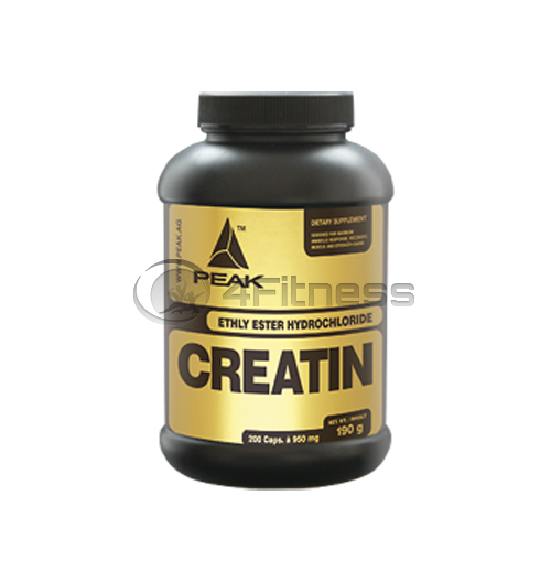 Creatine Ethyl Ester HCL 950 mg. – 200 caps.