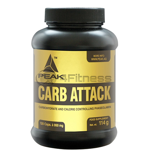 Carb Attack 950 mg. – 120 caps.