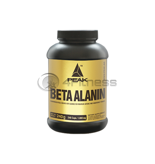Beta Alanin 1000 mg. – 240 caps.