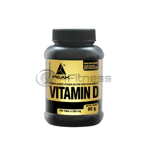 Vitamin D 500 мг. – 180 Табл.