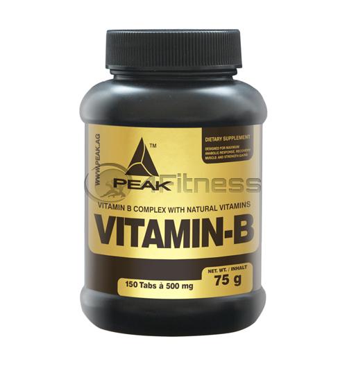 Vitamin B (Complex) 500 мг. – 150 Табл.