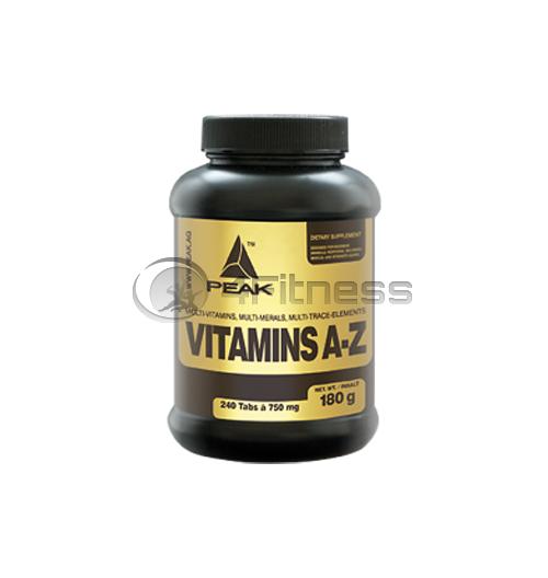 Vitamins (A-Z) 750 мг. – 240 Табл.