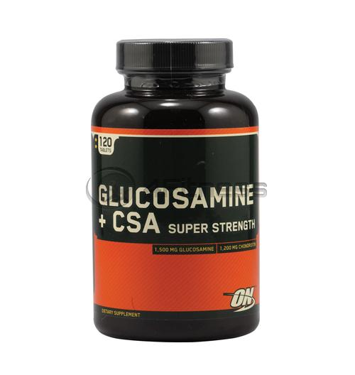 Glucosamine + CSA – 120 таблетки
