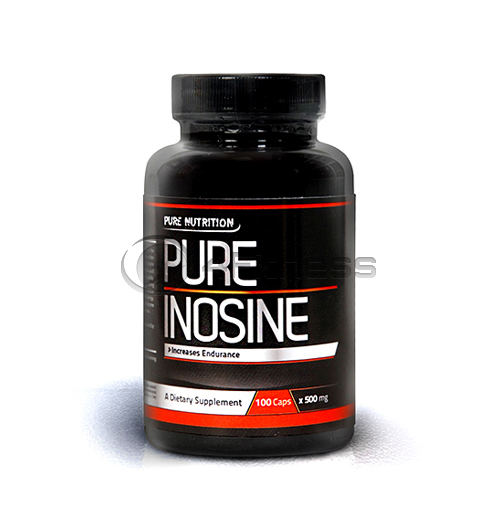 100% Pure Inosine 500 mg. – 100 caps.