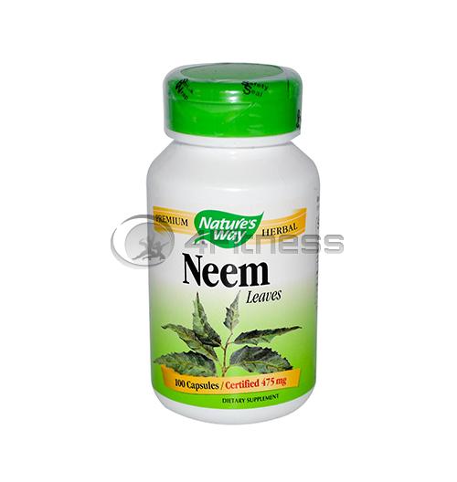 Neem 475 mg. /  Нийм (лист) 475 мг. – 100 Капс.