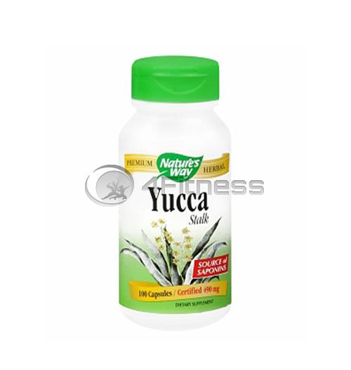 Yucca 490 mg. / Юка (стебло) 490 мг. – 100 Капс.