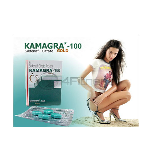 Kamagra Gold (Sildenafil) 4 табл. x 100 мг.