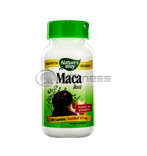 Maca Root 525 mg. /  Мака (корен) 525 мг. – 100 Капс.