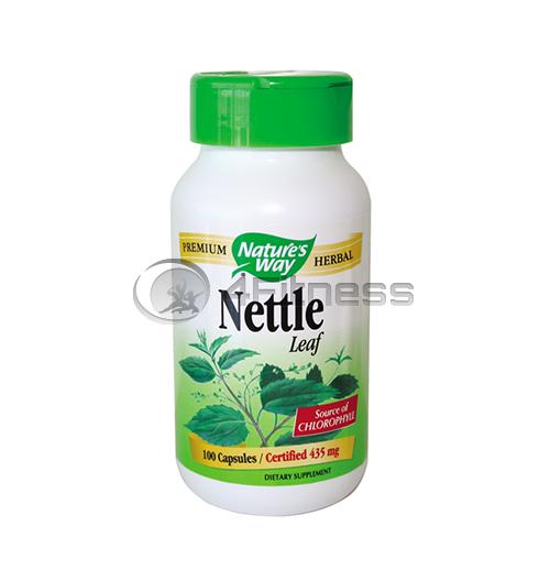 Nettle Leaf 435 mg. / Коприва лист 435 мг. – 100 Капс.