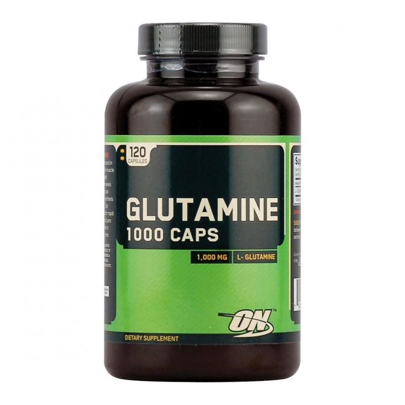 Glutamine 1000 mg. – 120 капс.