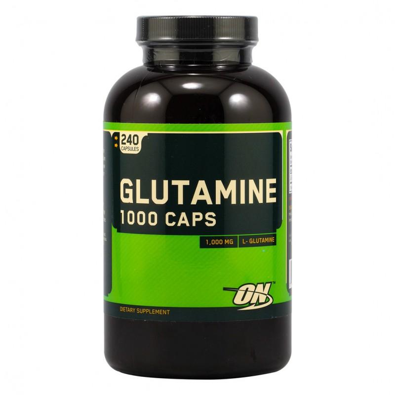 Glutamine 1000 мг. – 240 капс.