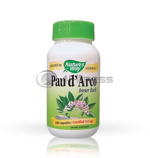 Pau d'Arko 545 mg. / Мравчено дърво 545 мг. – 100 Капс.