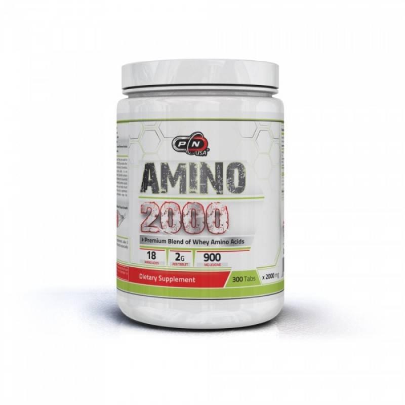 Amino 2000 + Leucine – 300 tabl.