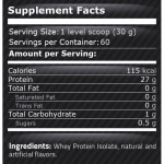 Pure Whey Isolate – 1814 gr.